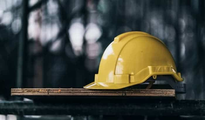 What are hard hats made of