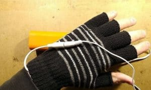 how to make heated gloves