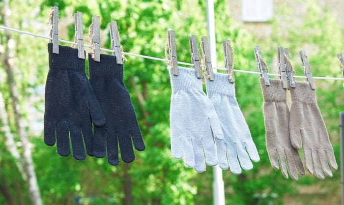 how to wash wool gloves