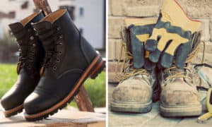 logger boots vs work boots